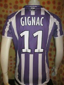 Ancien MAILLOT AIRNESS TOULOUSE FC #11 ANDRE-PIERRE GIGNAC TL TéFéCé Football