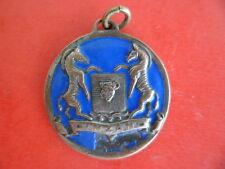 Médaille EGF boisson alcool CINZANO blason cheval zebré