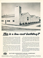 1957 American Machine and Foundry Building Vintage Advertisement Print Ad J468