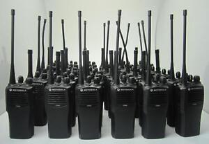 20 x Motorola CP040 VHF 2 Meter Band Handfunkgerät - Betriebsfunkgeräte