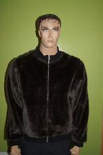 SABOTAGE vintage 90th Clubwear House Techno Love Parade Teddyfell Gr.XL Jacket