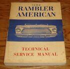 Original 1962 Rambler American Service Shop Manual 62 AMC