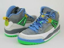 Nike Air Jordan Spizike Basketball Shoe Easter Gray Poison Green Blue Sz 9.5