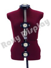Female Adjustable Sewing Dress Form Mannequin Torso Stand Medium Size #Jf-Fh-8