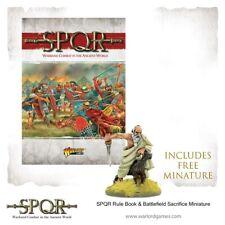 SPQR Rules 28mm Ancient Skirmish, Warlord Games, Plus Special Mini BNIB