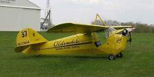 Aeronca C-3 American Ultra-Light Monoplane Mahogany Wood Model Small New