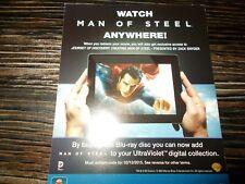 MAN OF STEEL HD Ultraviolet code - Googleplay