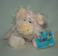 Ganz Webkinz Pink Pig Plush HM002 New w/ Unused Code