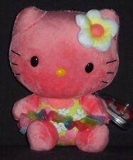 TY HELLO KITTY ROSE BEANIE BABY - MINT with MINT TAG