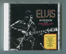 Elvis Presley CD en personne at the international hotel LAS VEGAS NEVADA 1993 RCA