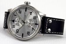 """Cavadini """"Stingray"""" Hombre Reloj Pilotos, Calendario VX7P, 50mm,"""
