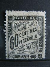FRANCE oblitéré  taxe n° 21