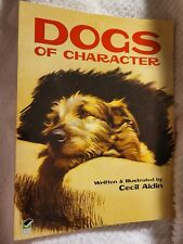 Dogs of Character By Cecil Aldin very gently used