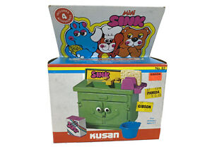 Vintage Zoodle Land Mini Sink Kusan Play Kitchen Accessories W/ Box Plastic Toy