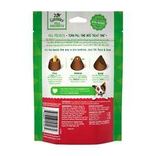 Greenies Pill Pockets Hickory Smoke Flavor Capsules 7.9 oz