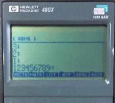 HP 48GX PROGRAMMABLE SCIENTIFIC CALCULATOR Hewlett Packard
