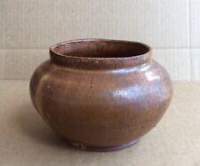 "Holland '70 Heavy Vintage Stoneware Studio Art Pottery Vase 3 3/8"" Tall"