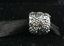 Authentic PANDORA Sterling Silver Vino Wine Bottle Bead Charm 791222