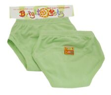 Bright Bots Washable Potty Training Pants (2pk Pale Green, EXLarge 30-36 months)