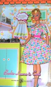 """Gorgeous """"Barbie Learns to Cook"""" K9141 Reproduction Swirl Ponytail ~ NRFB! SALE!"""