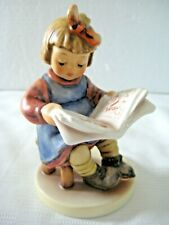 "Goebel Hummel Figurine ""What'S New?"" #418 • Tmk6 • 5 1/4"" Tall • Mint!"