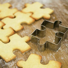 Stainless Steel Puzzle Shape Cake Biscuit Cookie Cutter Mold Pastry Baking Tool