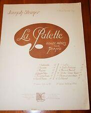 PARTITION Piano STRIMER LA PALETTE 12 pièces ici Devant l'Isba 1935