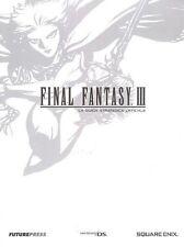 La Guida Strategica Ufficiale - Final Fantasy III - In Italiano