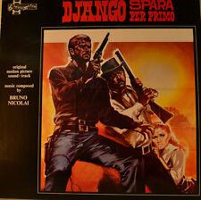 """Est-Colonna sonora-Django spara per primo-Bruno Nicolai 12"""" LP (l647)"""
