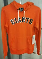 NWT San Francisco Giants MLB 47 Brand Sweatshirt Hoodie Womens S Orange Metallic