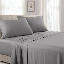 100% Cotton 300 Thread Count Attached Solid Waterbed Sheet Collection