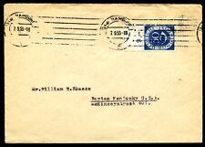 BUND 1951 132 OBERRAND in die USA (J7025b