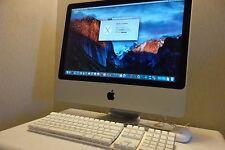 """Apple iMac 20"""" Intel C2D 2.0GHz 4GB 320GB Wi-Fi Bluetooth WebCAM DVD±RW A1224"""
