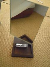 BALVI specchio da tavolo con base legno tinto wengè