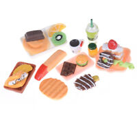 1set Doll House Accessorie Tableware Food Cake Milk For BJD SD  Doll FG