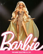 BARBIE COLLECTOR Catalog Collection Book Ad Magazine Blonds Blond • Fall 2013