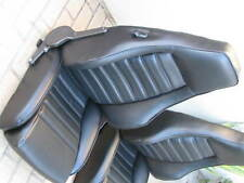 PORSCHE 911 912 930 TURBO SPORT SEAT KIT NEW PIGSKIN GERMAN VINYL UPHOLSTERY KIT