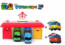 The Little Bus TAYO Bus Depot Center Playset + Gani + Rani (4 Tayo Includes)