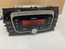 Ford Sony Car Radio Stereo Double Din Cd Mp3 player Island Shape Dab Digital