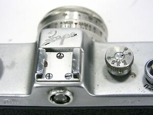 Russian FED-Zarya with  Industar-26m lens M39 camera.Exc-,CLA №9013927