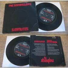 THE STRANGLERS - 5 Minutes Rare UK PS 7' Punk Rock New Wave 1978