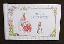 BEATRIX POTTER PETER RABBIT Photo Album MOM'S BRAG BOOK Vintage 1990 GIBSON