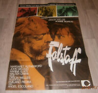 A1-Filmplakat   FALSTAFF , ORSON WELLES,JEANNE MOREAU
