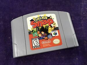 N64 Pokemon Snap - Authentic Nintendo 64 - Cartridge Only - Tested & Works
