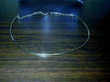 Bridal Inspirations Headpiece / Necklace Frame Base Silver Craft New