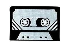 patch ecusson brode thermocollant cassette tape k7 doudoune vest jean backpack