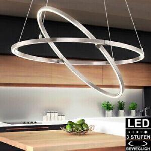 AMBIENTE designed plafonnier LED lampe suspendue salon - globo anneaux lumineux