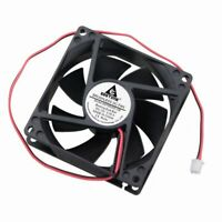 Dual Ball Bearing Brushless Cooling Exhaust Fan 12V 0.35A 80MM 80x80x25mm 2Pin
