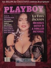 PLAYBOY Magazine March 1989 LA TOYA JACKSON PAMELA DES BARRES BARRY LEVINSON