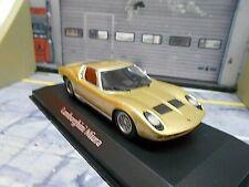 LAMBORGHINI Miura S gold met. 1966 Minichamps Maxichamps 1:43